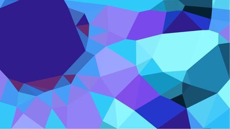 multicolor geometric triangles with corn flower blue, light sky blue and medium slate blue color. abstract background graphic. can be used for wallpaper, poster, cards or graphic elements.