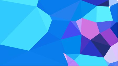 triangles background with dodger blue, light pastel purple and dark slate blue colors. can be used for wallpaper, poster, cards or graphic elements.