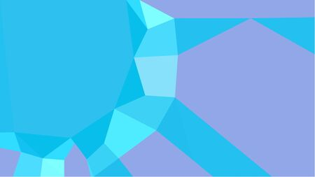 multicolor geometric triangles with deep sky blue, sky blue and turquoise color. abstract background graphic. can be used for wallpaper, poster, cards or graphic elements. Stock Photo - 130150049