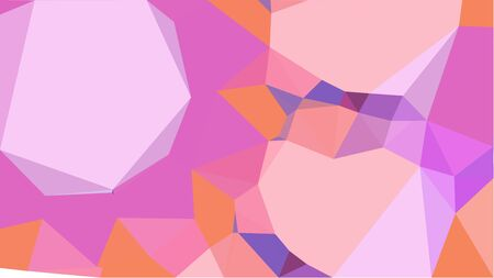 multicolor geometric triangles with pink, orchid and pastel pink color. abstract background graphic. can be used for wallpaper, poster, cards or graphic elements. Reklamní fotografie - 130150056