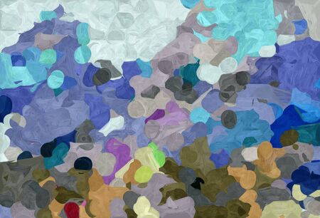 abstract decoration painting style with slate gray, pastel gray and dark olive green colors. Stock Photo