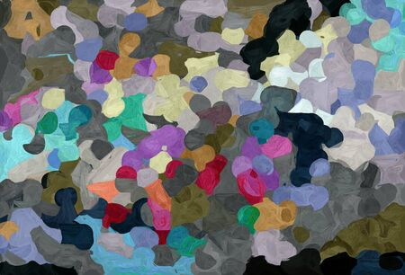 abstract colorful grunge painting style with dark slate gray, silver and gray gray colors. 스톡 콘텐츠