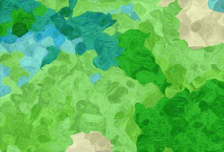 abstract colorful grunge painting style with moderate green, forest green and pastel gray colors.