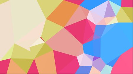 abstract geometric background with burly wood, dark salmon and light gray color triangles. can be used for wallpaper, poster, cards or graphic elements. Stock Photo - 130150072