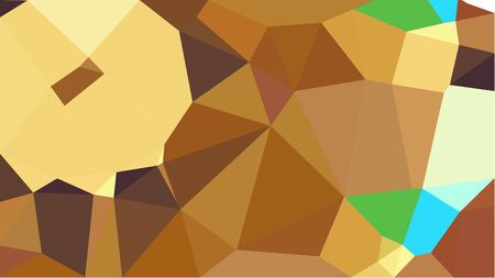 geometric multicolor triangles with sienna, khaki and tea green color. abstract background graphic. can be used for wallpaper, poster, cards or graphic elements. Stock Photo - 130150090