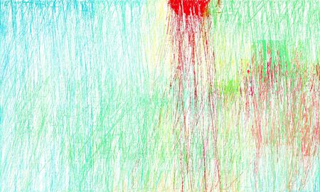 creative abstract drawing strokes background with beige, honeydew and medium aqua marine colors. can be used as wallpaper, background or graphic element.
