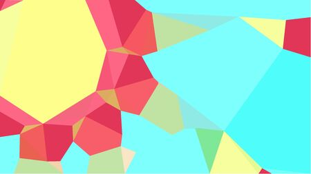 multicolor triangles with pastel red, turquoise and aqua marine color. abstract geometric background graphic. can be used for wallpaper, poster, cards or graphic elements.