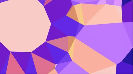 triangles background with pastel violet, blue violet and baby pink colors. can be used for wallpaper, poster, cards or graphic elements. Stock Photo - 130150119