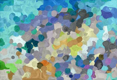 abstract creative painting style with light slate gray, pastel gray and dark olive green colors.