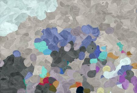 abstract decoration painting style with dark gray, dark slate gray and light gray colors.