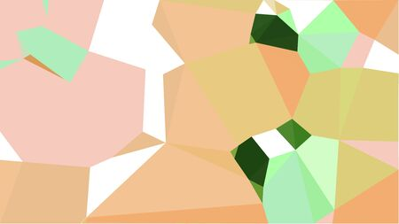 geometric multicolor triangles with burly wood, dark olive green and pale green color. abstract background graphic. can be used for wallpaper, poster, cards or graphic elements.