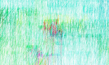 abstract painting strokes background with medium spring green, honeydew and aqua marine colors. can be used as wallpaper, background or graphic element. 스톡 콘텐츠
