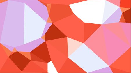 triangles background with thistle, pastel magenta and coffee colors. can be used for wallpaper, poster, cards or graphic elements.