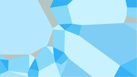 triangles background with pale turquoise, light sky blue and medium turquoise colors. can be used for wallpaper, poster, cards or graphic elements. Stock Photo - 130150169