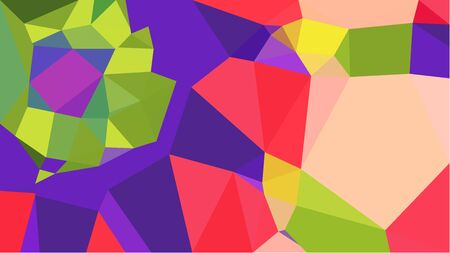 multicolor triangles with dark slate blue, peru and skin color. abstract geometric background graphic. can be used for wallpaper, poster, cards or graphic elements. Stock Photo - 130150184