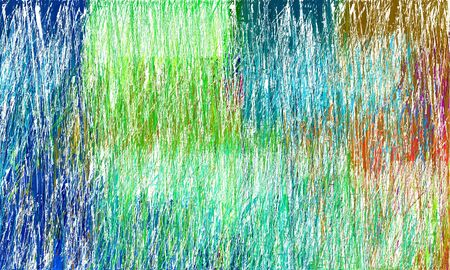 creative abstract drawing strokes background with teal, brown and honeydew colors. can be used as wallpaper, background or graphic element. Standard-Bild - 130150187