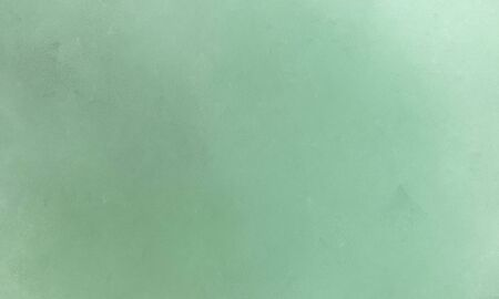 smooth brush painted texture graphic element with dark sea green, tea green and pastel blue colors. Stock Photo