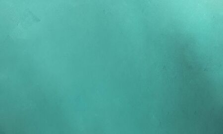 abstract grunge painted background texture with cadet blue, medium aqua marine and teal blue color background with free space for text or images.