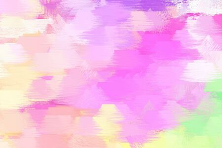 rough brush painted artwork with pastel pink, violet and beige color. can be used as texture, graphic element or wallpaper background.