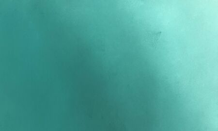 teal blue, sky blue and medium aqua marine color abstract rough brush painted background. Stock Photo - 130937999