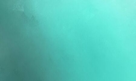 clean brush painted texture background with medium turquoise, teal blue and blue chill colors. Stock Photo