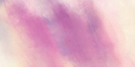 abstract grunge art painting with pastel violet, antique white and baby pink color and space for text. can be used as texture, background element or wallpaper. Stockfoto