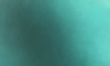 clean brush painted texture background with teal blue, medium aqua marine and cadet blue colors. 写真素材