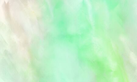 abstract watercolor painted background with tea green, beige and pale green color and space for text or image