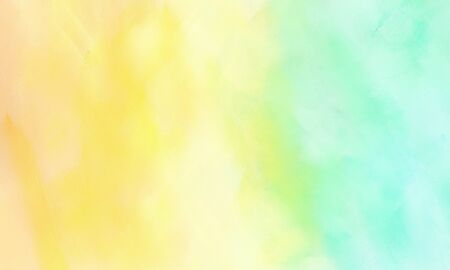 abstract brushed background with khaki, pale turquoise and tea green color and space for text