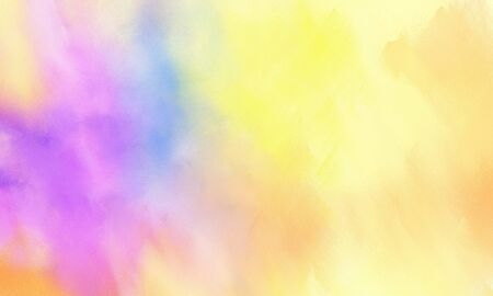 abstract painted background with pale golden rod, plum and orchid color and space for text or image