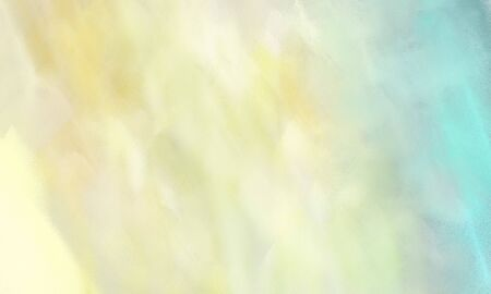abstract watercolor painted background with wheat, light blue and sky blue color and space for text or image