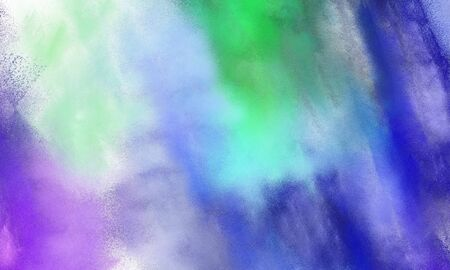 abstract watercolor painted background with light pastel purple, light steel blue and dark slate blue color and space for text