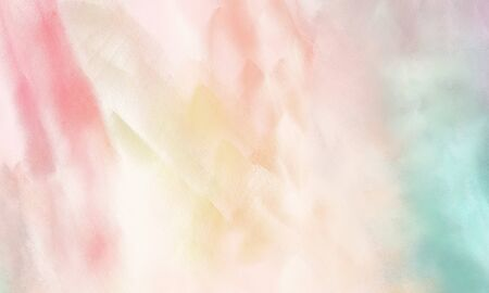 abstract watercolor painted background with antique white, pastel blue and sea shell color and space for text or image Stockfoto
