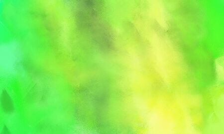 grunge background with yellow green, moderate green and khaki color and space for text