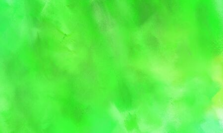 beautiful brushed background with colorful lime green, moderate green and light green painted color.