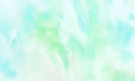 simple light cyan, honeydew and pale turquoise painted color background for vintage card or retro template.