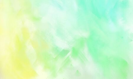 fine brush painted background with tea green, pale golden rod and lemon chiffon color and space for text