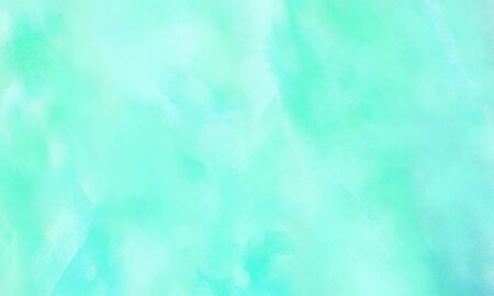 abstract brushed background with aqua marine, pale turquoise and turquoise color and space for text Stock fotó