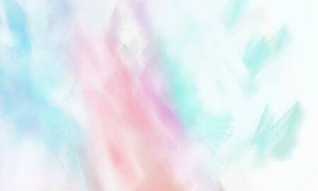 beautiful brushed background with colorful lavender, white smoke and pale turquoise painted color.