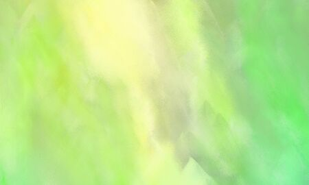 abstract painted background with khaki, light green and pale golden rod color and space for text