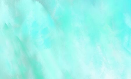 grunge background with pale turquoise, aqua marine and light cyan color and space for text