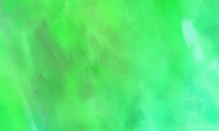 abstract background with pastel green, aqua marine and vivid lime green color and space for text Stok Fotoğraf