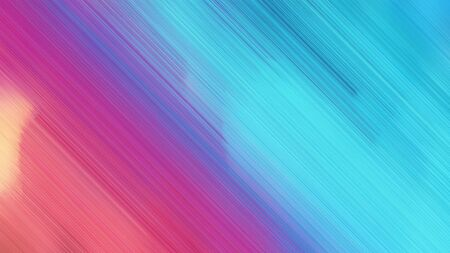 futuristic concept of connecting lines with medium turquoise, mulberry  and moderate violet colors. good as background or backdrop wallpaper. Standard-Bild