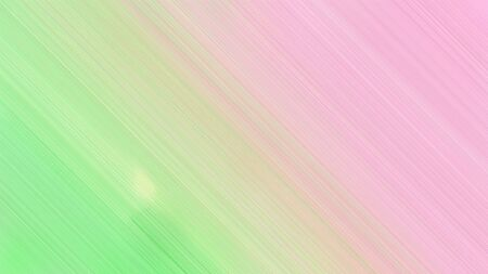 diagonal lines background or backdrop with baby pink, pale green and light green colors. fantasy abstract art.