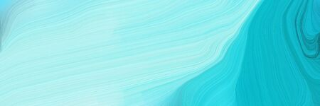 futuristic concept of colorful speed lines with pale turquoise, dark turquoise and sky blue colors. good as background or backdrop wallpaper.