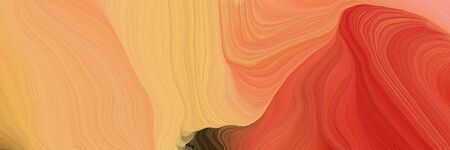 curved lines background or backdrop with sandy brown, firebrick and coffee colors. fantasy abstract art.