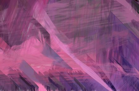 abstract futuristic line design with antique fuchsia, pale violet red and pastel violet color. can be used as wallpaper, texture or graphic background. Zdjęcie Seryjne - 133393474