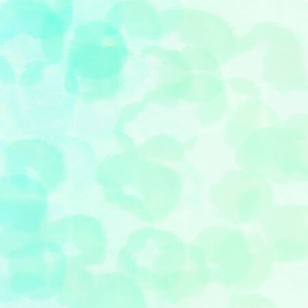 square graphic with round bubbles pale turquoise, light cyan and aqua marine background with space for text or image