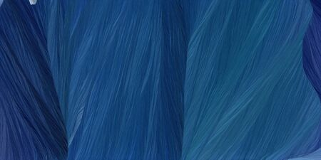 curved speed lines background or backdrop with midnight blue, teal blue and very dark blue colors. good as wallpaper.