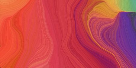 abstract design swirl waves. can be used as wallpaper, background graphic or texture. graphic illustration with moderate red, dark slate blue and dark khaki colors.